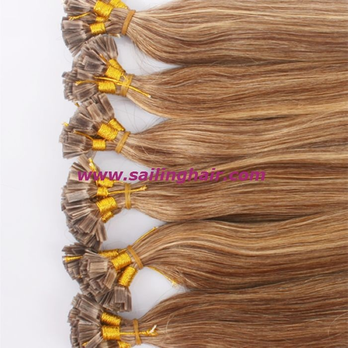 Pre bonded hair extension