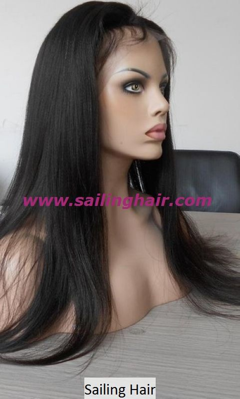 Chinese Hair 22inch natural color Yaki Straight