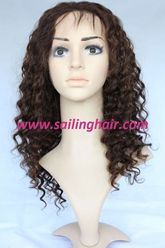 Indian Remy Hair Kinky Curl Color 4