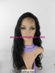 Brazilian Virgin Hair 24inch #1B Naturally Wavy