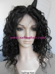 Malaysian Virgin Hair 10inch 1# Natural Wave