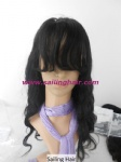 Malaysian Virgin Hair 16inch Body Wave Color #1B
