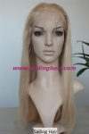 European Hair 18inch 613# and 27# high light Straight