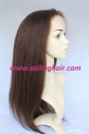 Indian Virgin Hair 16 inch Yaki Color 4