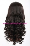 Front lace wig